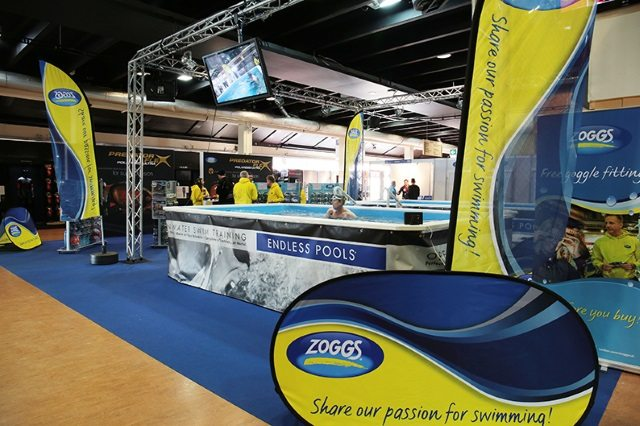 Zoggs sponsors swim zone at 220 Triathlon Show