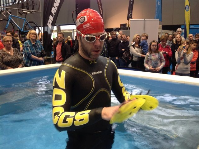 Zoggs sponsors SwimZone at the Swim Expo in Manchester