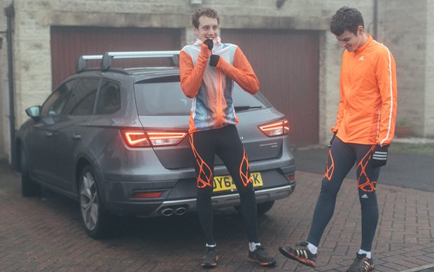 Brownlee brothers Tri Another Way with SEAT at Telegraph consumer shows