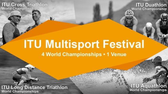 ITU Multisport Festival 2017 - 4 world championships, 1 venue