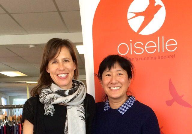 Oiselle - Sally and Atsuko
