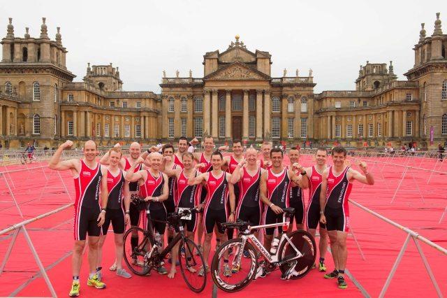 Leukaemia & Lymphoma Research Blenheim Palace Triathlon 2014