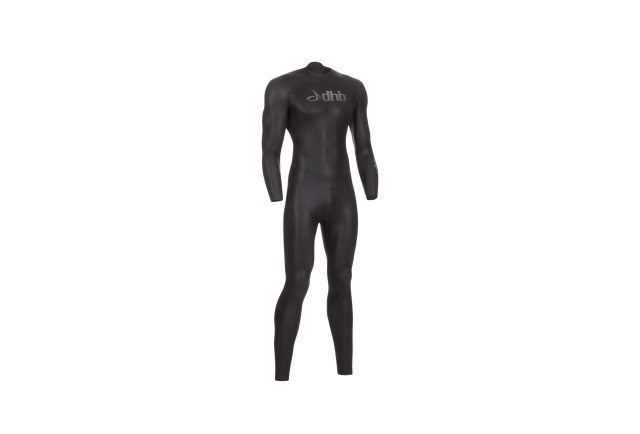 Wiggle - dhb wetsuit - black-silver