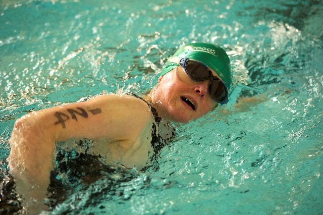 Borders Sport and Leisure Triathlon Series 2014 - swim