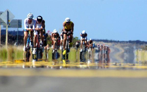 Ironman 2012 World Championship - on the Queen K - photo Lee Gruenfeld