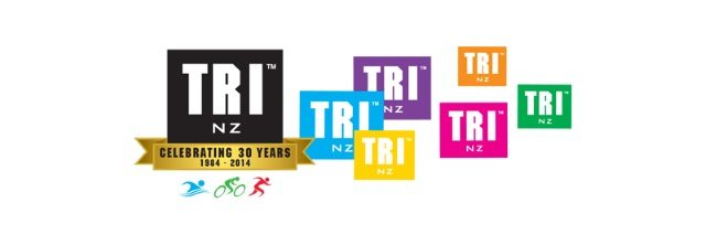 Tri NZ new 30 years logo