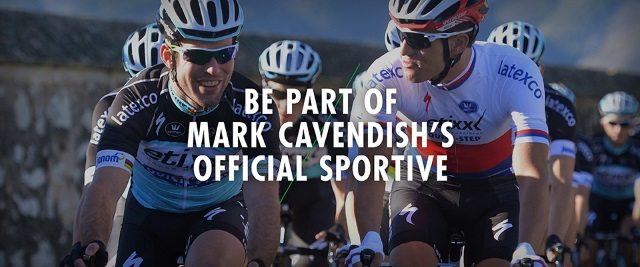 Rise Above Sportive is Mark Cavendish official sportive