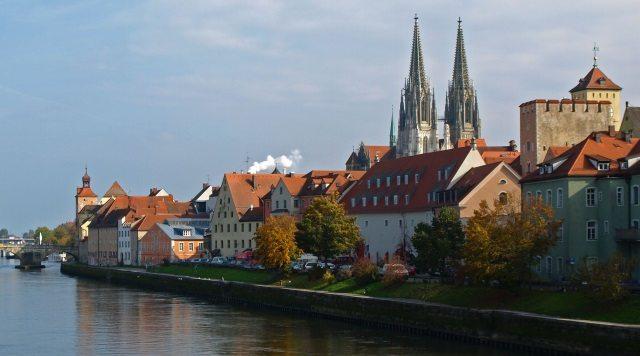 Regensburg in Bavaria, Germany