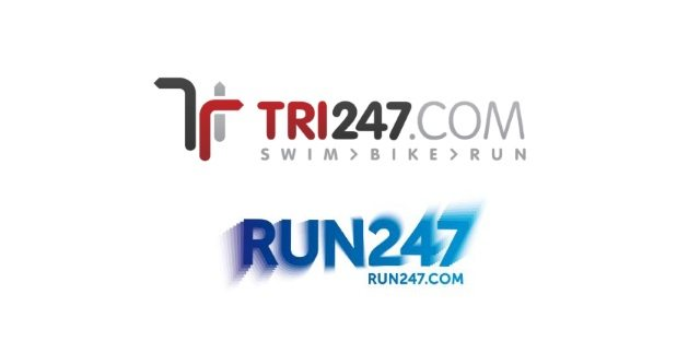 Tri247 and Run247 logos