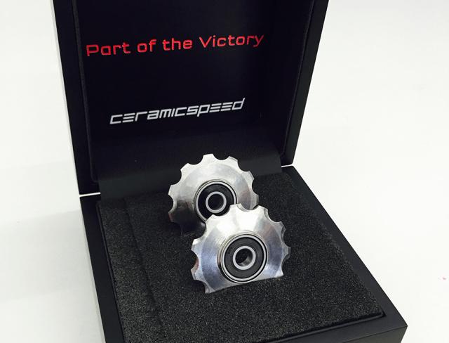 150309_CeramicSpeed_3D printed hollow titanium pulley wheels_2