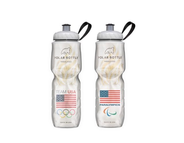 Polar Bottle is official water bottle licensee of Team USA