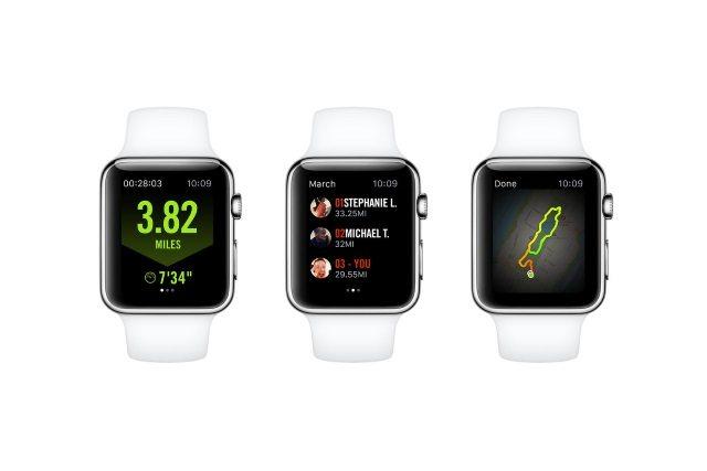 Nike Running on Apple Watch