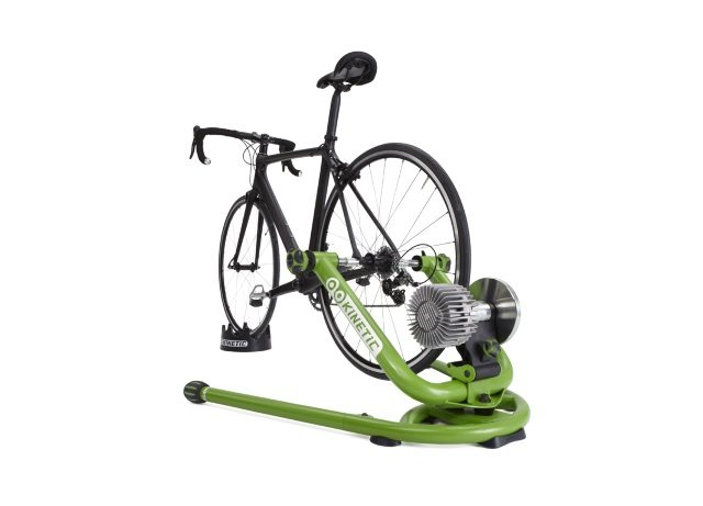 Kinetic Rock and Roll turbo trainer with bike