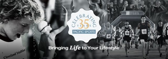 Pacific Sports - celebrating 35 years banner