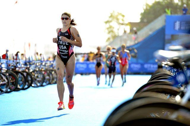 Sarah True - nee Groff - pro triathlete