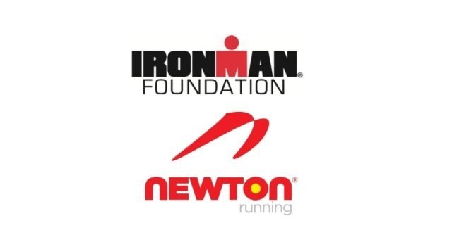 Ironman Foundation and Newton Running logos