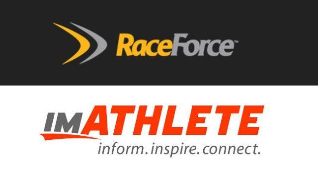 RaceForce and imATHLETE logos