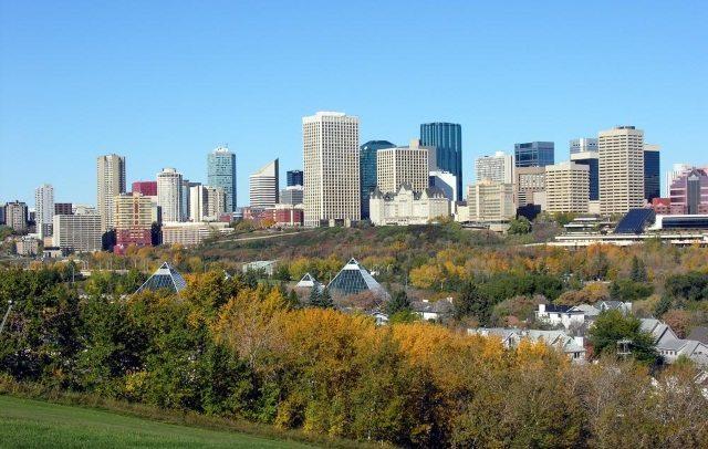 Skyline Edmonton, Alberta - photo BIGskyline.com