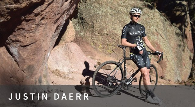 Ninox sponsored triathlete Justin Daerr
