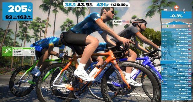 The London Triathlon gets virtual with Zwift training