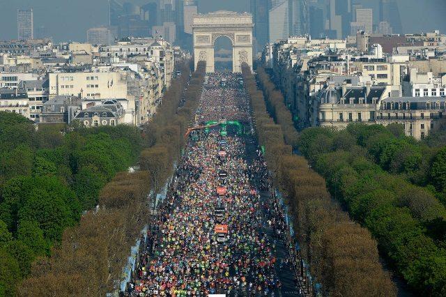 Schneider Electric Marathon de Paris 2015 - Photo credit ASO