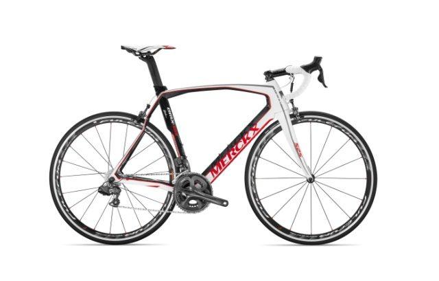 Eddy Merckx Cycles USA - EMX 525 White Carbon Red Shimano Ultegra