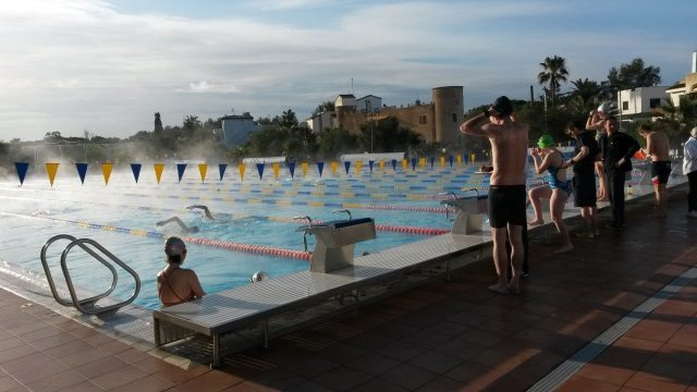 2015 Tri Dynamic Mallorca Tri Camp with Coaching Legend Joe Friel - at the BEST Swim Centre in Mallorca