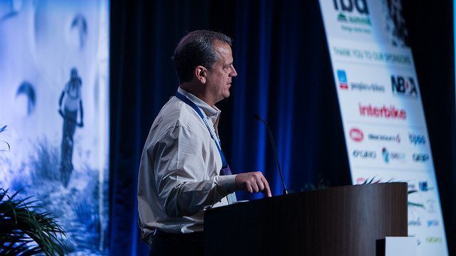 Pat Hus of Interbike at 2015 IBD Summit