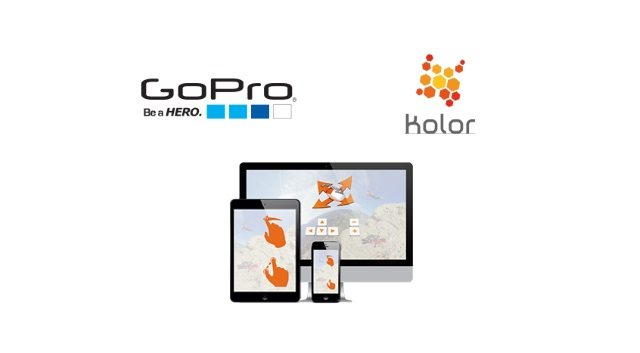 GoPro and Kolor - virtual reality and spherical media solutions
