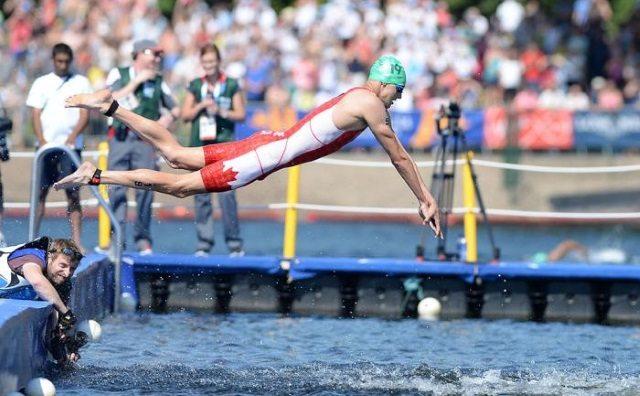 Triathlon Mixed Relay in Glasgow - Photo copyright Delly Carr, ITU Media