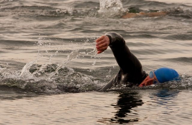 Tallington Lakes swimmer