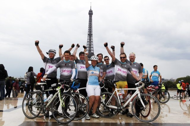 Action Medical Research - London to Paris