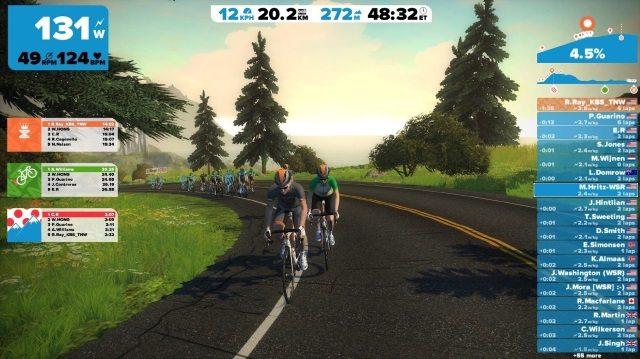ZWIFT screen shot
