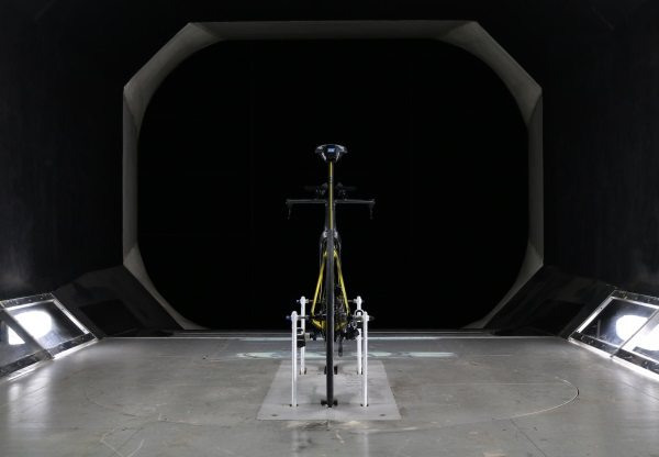 Boardman Bikes in the wind tunnel