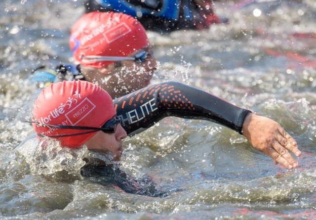 tri for life - swim - photo Anthony Upton 2014