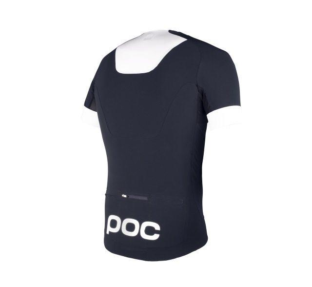 POC Raceday Aero Jersey - Nickel Blue - Back
