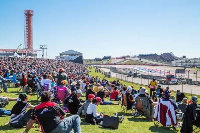 USGP at Circuit of the Americas - spectators - photo COTA