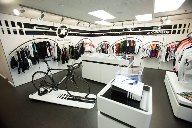 Assos ProShop display
