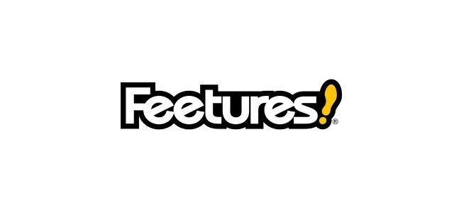Feetures running logo