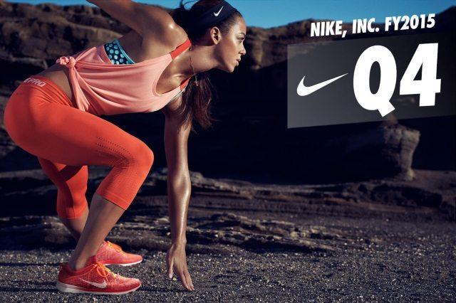 Nike Fiscal 2015 Q4