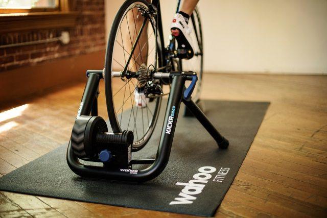 Wahoo Fitness - kickr snap pedaling