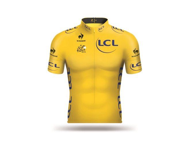 Jaune TDF 2015 jersey