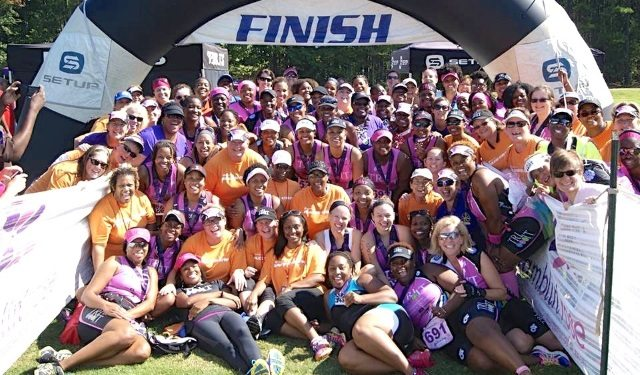 Tri It For Life female athletes