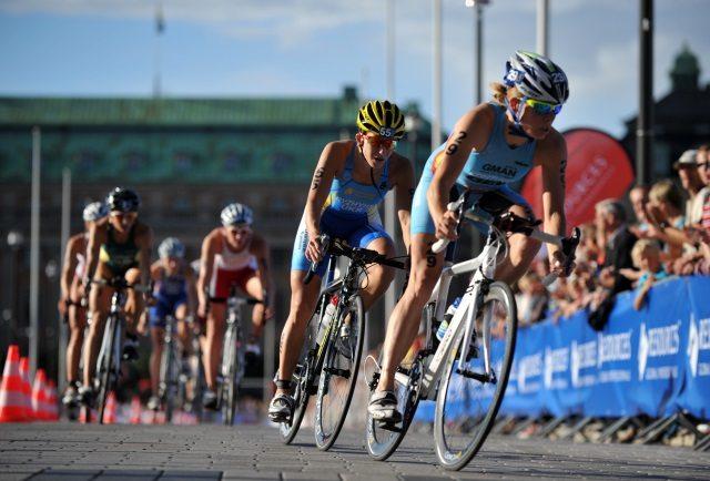 Belgian triathletes - photo credit Janos Schmidt ITU - 2012 ITU World Triathlon Stockholm