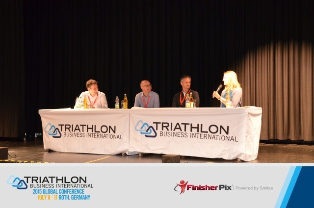 TBI Global Triathlon Conference - panel discussion - photo FinisherPix