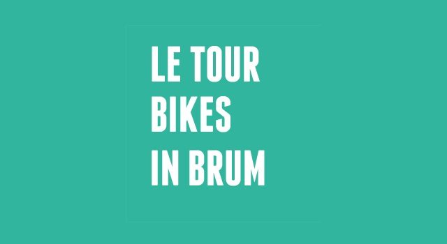Cycle Show - Le Tour bikes in Brum