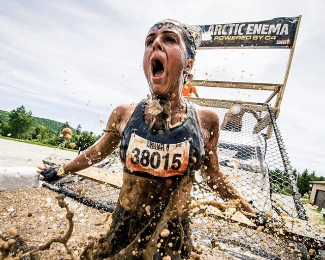 Tough Mudder - artic enema - photo by Gameface Media