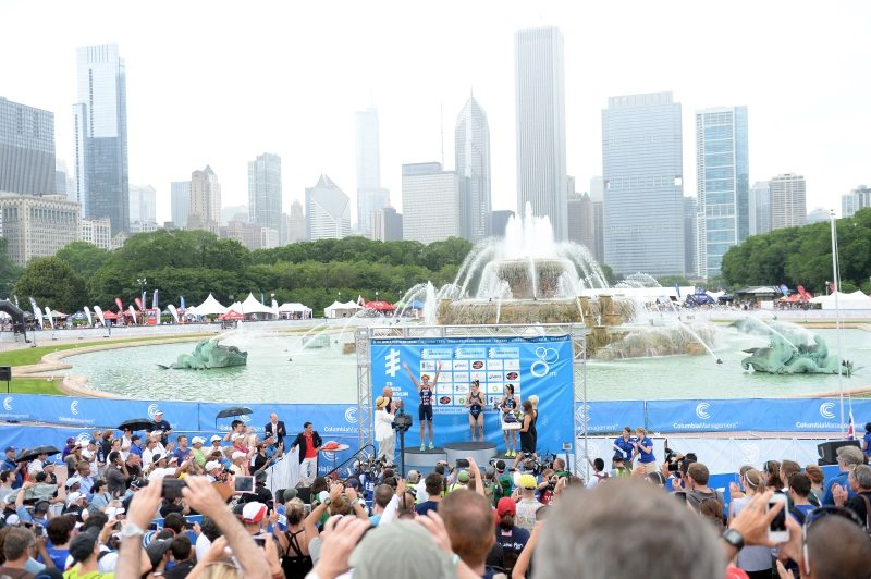 ITU World Triathlon Chicago - photo Delly Carr - ITU