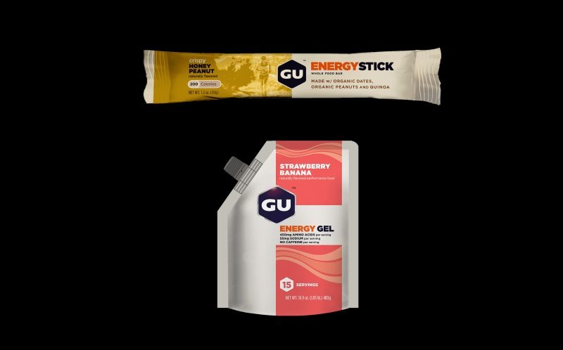 New GU Energy Stick and GU Energy Gel 15-Serving Pouch