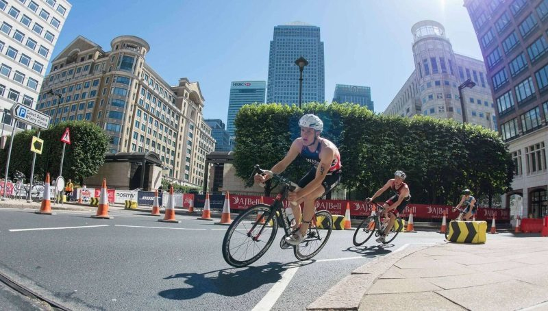 2015 AJ Bell London Triathlon